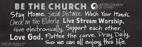 Be the church header